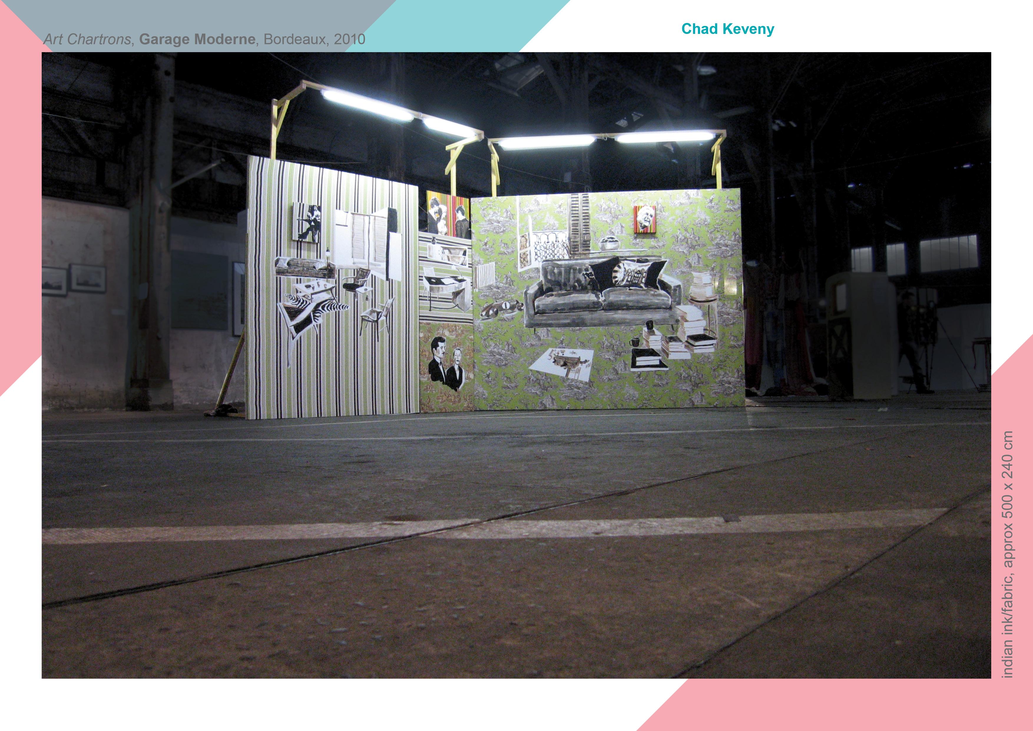 Garage moderne chad keveny artist - Bardage moderne ...